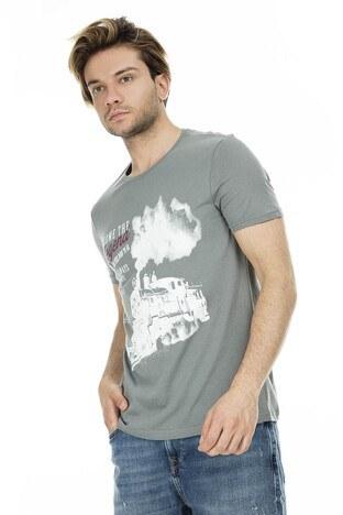 Mavi Erkek T Shirt 065382-28439 YEŞİL