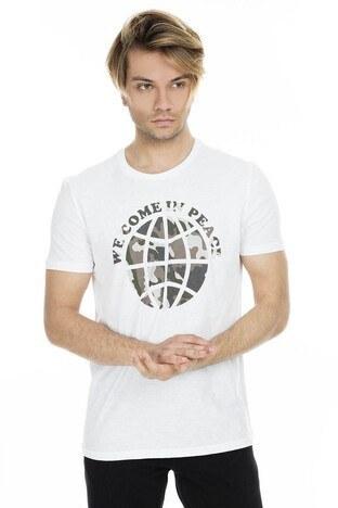 Mavi - Mavi Erkek T Shirt 065447-620 BEYAZ
