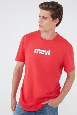 Mavi - Mavi Erkek T Shirt 066848-34329 KIRMIZI