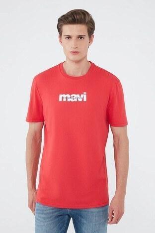 Mavi Erkek T Shirt 066848-34329 KIRMIZI