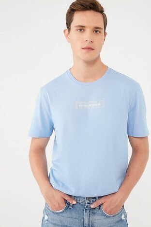 Mavi - Mavi Erkek T Shirt 066848-34672 MAVİ