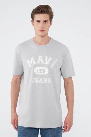 Mavi - Mavi Erkek T Shirt 067140-35102 GRİ