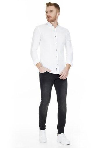 Mavi Skinny Dar Paça Pamuklu Leo Jeans Erkek Kot Pantolon 0076228604 SİYAH