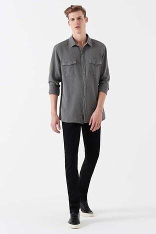 Mavi - Mavi Marcus Dar Kesim Dar Paça Jeans Erkek Kot Pantolon 0035121320 MAVİ-SİYAH
