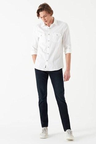 Mavi - Mavi Marcus Jeans Erkek Kot Pantolon 0035129369 KOYU LACİVERT