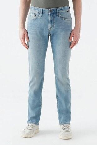 Mavi - Mavi Düz Paça Pamuklu Martin Jeans Erkek Kot Pantolon 0037828709 AÇIK MAVİ