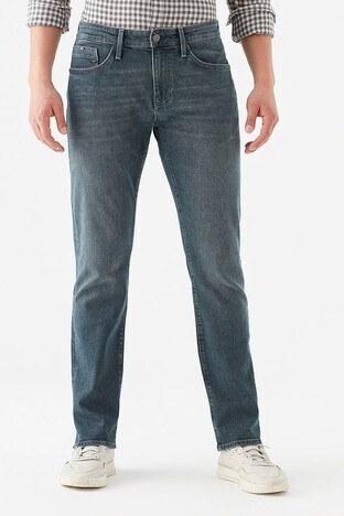 Mavi - Mavi Martin Pamuklu Normal Kesim Düz Paça Jeans Erkek Kot Pantolon 0037828186 LACİVERT