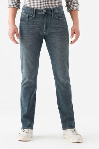 Mavi Martin Pamuklu Normal Kesim Düz Paça Jeans Erkek Kot Pantolon 0037828186 LACİVERT