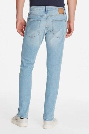 Mavi Pamuklu Skinny Dar Paça Jake Jeans Erkek Kot Pantolon 0042223518 MAVİ