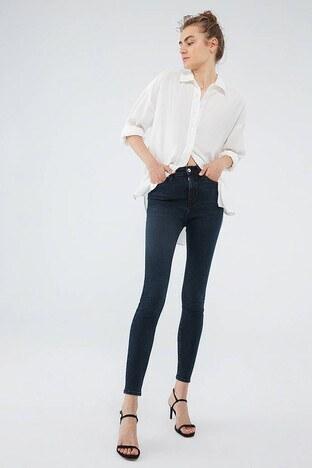 Mavi - Mavi Serenay Jeans Bayan Kot Pantolon 100980-34747 LACİVERT