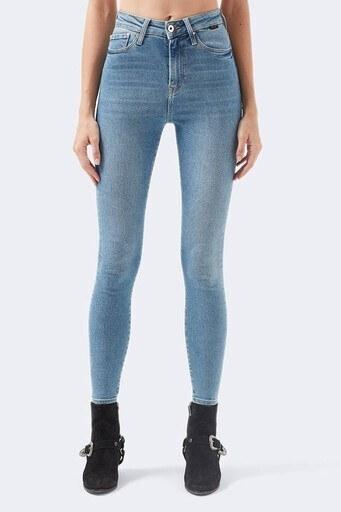 Mavi Yüksek Bel Skinny Pamuklu Serenay Jeans Bayan Kot Pantolon 100980-30860 MAVİ