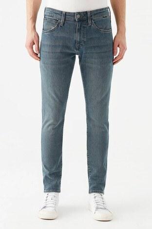 Mavi - Mavi Skinny Dar Paça Pamuklu James Jeans Erkek Kot Pantolon 00424-28193 MAVİ