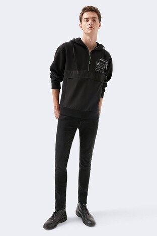 Mavi Skinny Dar Paça Pamuklu James Jeans Erkek Kot Pantolon 0042430563 SİYAH
