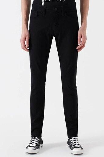 Mavi Skinny Dar Paça Pamuklu Leo Jeans Erkek Kot Pantolon 0076223313 SİYAH