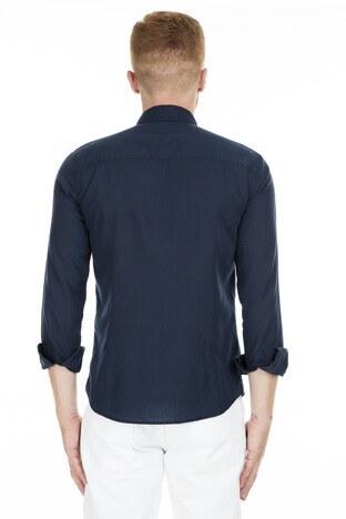 Mavi Slim Fit % 100 Pamuk Erkek Gömlek 021234-28417 KOYU LACİVERT