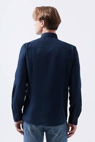 Mavi Slim Fit % 100 Pamuk Erkek Gömlek 021234-28417 LACİVERT