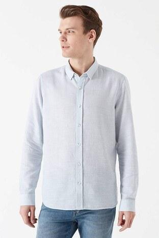 Mavi - Mavi Slim Fit Erkek Gömlek 020579-28436 YOSUN
