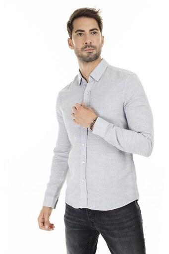 Mavi Slim Fit Erkek Gömlek 020579-30207 GRİ