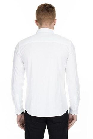 Mavi Slim Fit Erkek Gömlek 020709-28613 BEYAZ