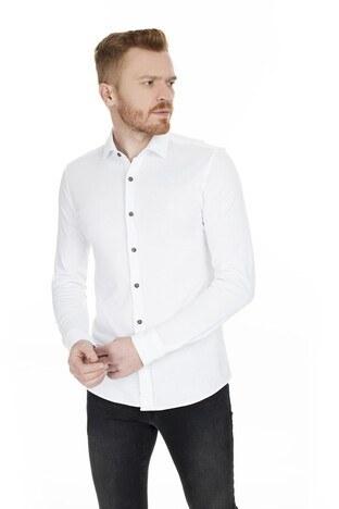 Mavi Slim Fit Erkek Gömlek 021440-620 BEYAZ