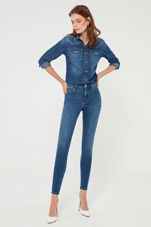 Mavi - Mavi Tess Jeans Bayan Kot Pantolon 100328-35268 LACİVERT