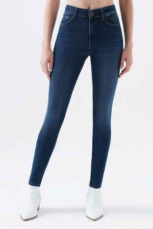 Mavi - Mavi Tess Skinny Jeans Bayan Kot Pantolon 100328-29901 LACİVERT