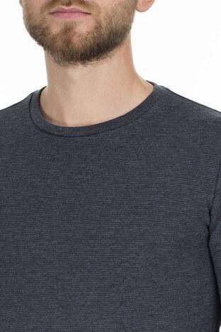 Mavi Uzun Kollu Erkek T Shirt 064622-26834 ANTRASİT