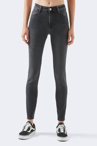 Mavi - Mavi Yüksek Bel Skinny Tess Jeans Bayan Kot Pantolon 100328-31251 ANTRASİT