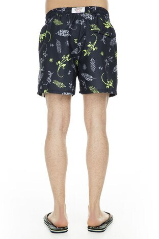 Miami Beach Erkek Mayo Short 3801008 SİYAH