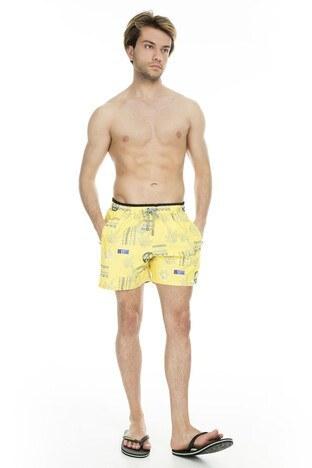 Miami Beach - Miami Beach Erkek Mayo Short 3801016 SARI