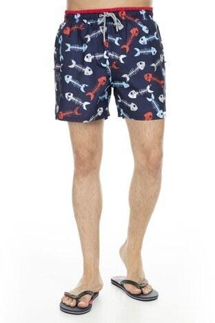Miami Beach Erkek Mayo Short 3801017 LACİVERT