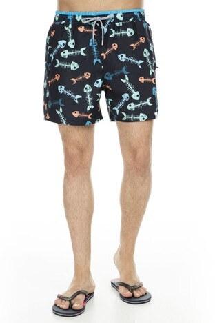 Miami Beach Erkek Mayo Short 3801017 SİYAH