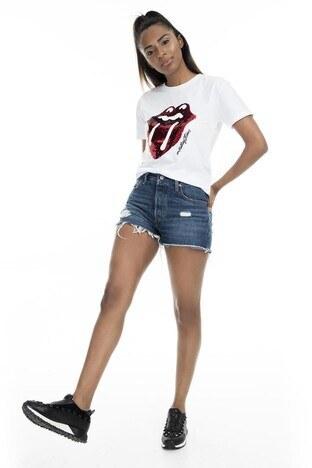 Mint Kadın T Shirt 4245046 BEYAZ