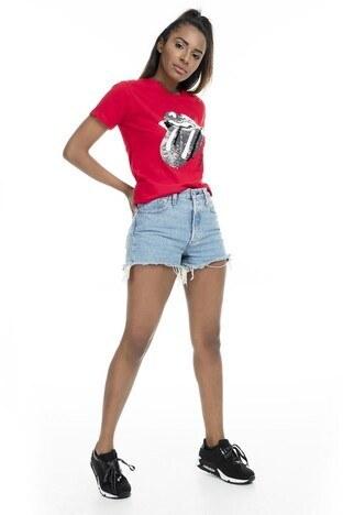 Mint Kadın T Shirt 4245046 KIRMIZI