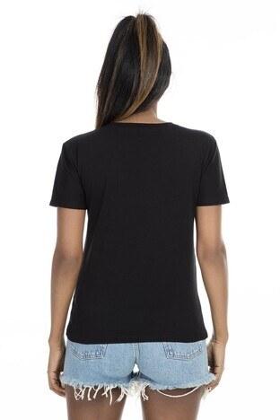 Mint Kadın T Shirt 4245046 SİYAH
