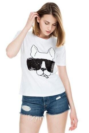 MİNT - Mint Kadın T Shirt 4245220 SİYAH