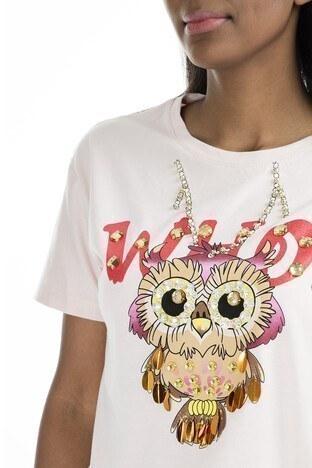 Mint Kadın T Shirt 4245242 PEMBE