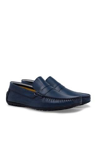 Navigli Hakiki Deri Erkek Ayakkabı 56441327P LACİVERT