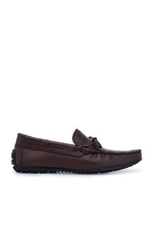 Navigli - Navigli Hakiki Deri Erkek Ayakkabı 56441332P KAHVE