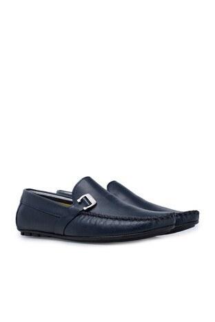 Navigli Hakiki Deri Erkek Ayakkabı 56442310B LACİVERT