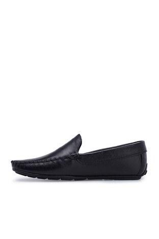 Navigli Hakiki Deri Erkek Ayakkabı 56442310B SİYAH
