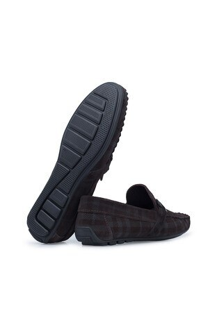 Navigli Hakiki Deri Erkek Ayakkabı 56442310SB KAHVE