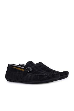 Navigli Hakiki Deri Erkek Ayakkabı 56442310SB SİYAH