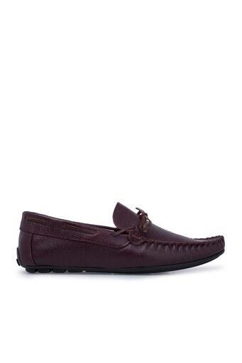 Navigli Hakiki Deri Erkek Ayakkabı 56442311B BORDO
