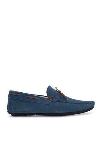 Navigli Hakiki Deri Erkek Ayakkabı 56442311S MAVİ