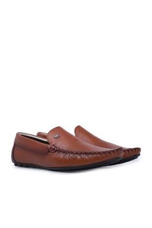 Navigli Hakiki Deri Erkek Ayakkabı 56442313B TABA