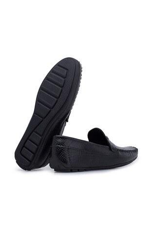 Navigli Hakiki Deri Erkek Ayakkabı 56442313HA SİYAH