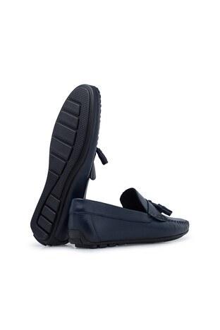 Navigli Hakiki Deri Erkek Ayakkabı 56442314B LACİVERT