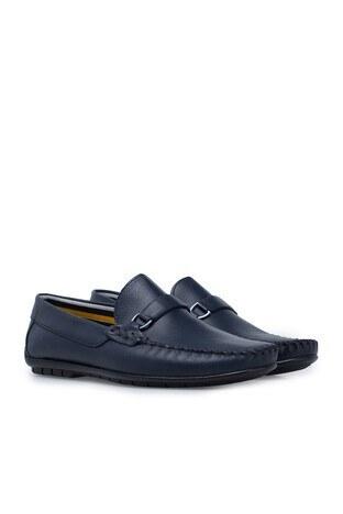 Navigli Hakiki Deri Erkek Ayakkabı 56442315B LACİVERT