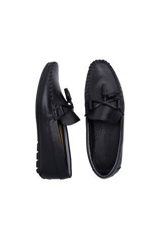 Navigli Hakiki Deri Erkek Ayakkabı 56442316B SİYAH